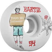 BONES STF Pro Bartie Thank You 54x32 V1 Skateboard Wheel 83B 4pk