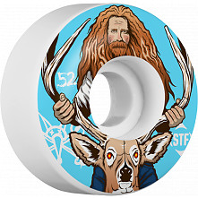 BONES WHEELS STF Pro Haslam Broncanus 52mm 4pk
