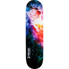 Mini Logo Small Bomb Skateboard Deck 191 Cosmic - 7.5 x 28.65