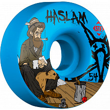 BONES WHEELS STF Pro Haslam Bohemian 54mm Blue Wheels 4pk