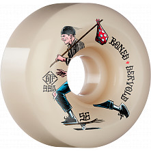BONES WHEELS PRO STF Skateboard Wheels Servold Gone Skating 56mm V6 Wide-Cut 99a 4pk