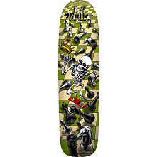 PRE-ORDER Bones Brigade® Rodney Mullen 11th Series Reissue Skateboard Deck Natural - 7.4 x 27.625
