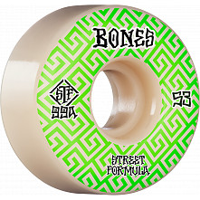 BONES WHEELS STF Skateboard Wheels Patterns 53 V2 Locks 99A 4pk