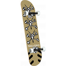 Powell Peralta Vato Rats Gold Birch Complete Skateboard - 8 x 31.45