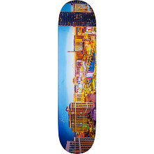 "Mini Logo Chevron ""11"" Skateboard Deck 242 City Las Vegas - 8 x 31.45"