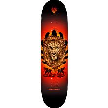 Powell Peralta Flight Salman Agah Lion Skateboard Deck - 8.75 x 32.95
