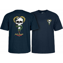 Powell Peralta Mike McGill Skull & Snake  T-shirt - Navy
