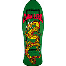 Powell Peralta Steve Caballero Chinese Dragon Blem Green Deck - 10 x 30
