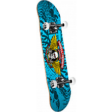 Powell Peralta Winged Ripper Complete Skateboard Blue - 7 x 28