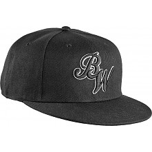 BONES WHEELS Cap Snap Back Script - Black
