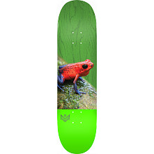 "MINI LOGO POISON ""16"" SKATEBOARD DECK 255 K20 TREE FROG - 7.5 X 30.70"