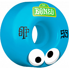 BONES WHEELS STF Googly Blues Skateboard Wheels V4 53mm 103A 4pk