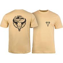 BONES WHEELS Desert Ditch T-shirt Tan