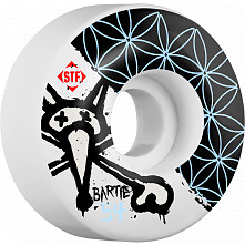 BONES WHEELS STF Pro Bartie Flower 54mm Wheels 4pk