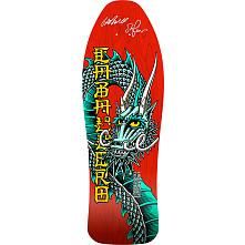 Bones Brigade Caballero Blem Red Skateboard Deck Signed by GAP/Stacy