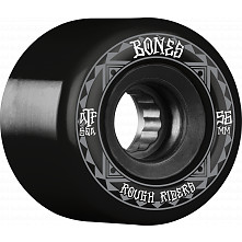 BONES WHEELS ATF Rough Rider Skateboard Wheels Runners 56mm 80a 4pk Black