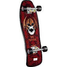 Powell Peralta Per Welinder Nordic Skull Complete Skateboard Black/Red - 9.625 x 29.75