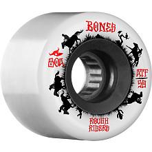 BONES WHEELS ATF Rough Rider Skateboard Wheels Wranglers 59mm 80a 4pk White