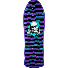 Powell Peralta Ripper GeeGah Skateboard Deck - Purple 9.75 x 30