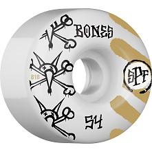 BONES SPF War Paint 54x34 P4 Skateboard Wheel 81B 4pk