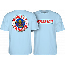 Powell Peralta Supreme T-shirt - Powder Blue