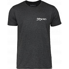 BONES WHEELS Pocket Text T-shirt - Black
