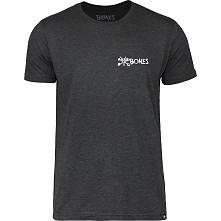 BONES WHEELS Pocket Text T-shirt - Black