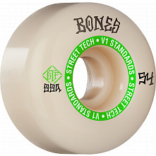 BONES WHEELS STF Skateboard Wheels Ninety-Nines 54mm V1 Standard 99a 4pk