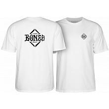 BONES WHEELS Diamond T-shirt White