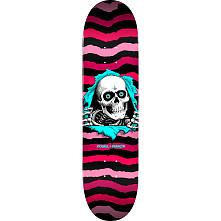 """Powell Peralta Ripper Skateboard Blem Deck Pink 244 K20 - 8.5"""" x 32"""