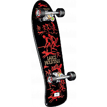 Bones Brigade Lance Mountain Future Primitive Complete Assembly Black - 9.94 x 30