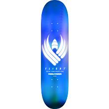 Powell Peralta Flight® Skateboard Deck Glow Blue - Shape 246 - 9.05 x 32.95