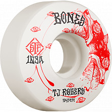 BONES WHEELS PRO STF Skateboard Wheels Rogers Spirit Wolf 54mm V3 Slims 103A 4pk