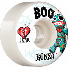 BONES WHEELS PRO STF Skateboard Wheels Boo Voodoo 53mm V4 Wide 103A 4pk