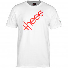 these wheels Logo T-shirt - White
