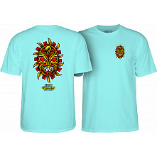Powell Peralta Nicky Guerrero Mask T-Shirt Celadon