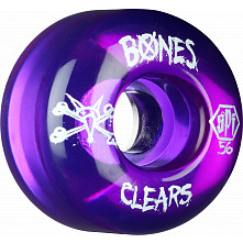 BONES WHEELS SPF Clear Purple 56mm 4pk