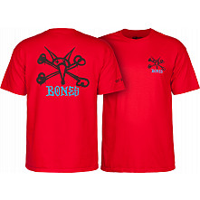 Powell Peralta Rat Bones T-shirt - Red