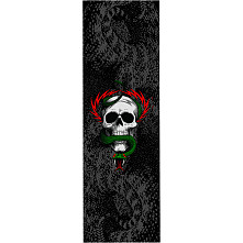 Powell Peralta Grip Tape Sheet 9 x 33 MCGILL AND SNAKE (Black)