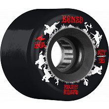 BONES WHEELS ATF Rough Rider Skateboard Wheels Wranglers 56mm 80a 4pk Black