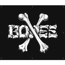 BONES WHEELS BW Cross Banner 36 x 36