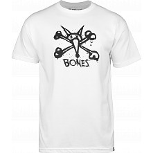 BONES WHEELS Central T-shirt White