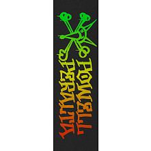Powell Peralta Grip Tape Sheet 10.5 x 33 Vato Rat Fade (Black)