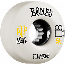 BONES WHEELS ATF Skateboard Wheels Filmers 54mm 80A 4pk