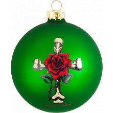 Powell Peralta Holiday Ornaments 3pk - No Red Left