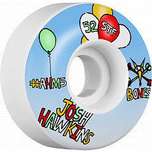 BONES WHEELS STF Pro Hawkins Happy Skateboard Wheels V1 Standard 52mm 4pk