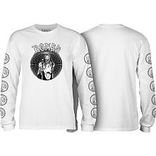 BONES WHEELS Terror Nacht Nightmare Longsleeve T-shirt White