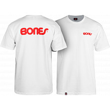 Bones® Bearings Swiss Text T-Shirt - White