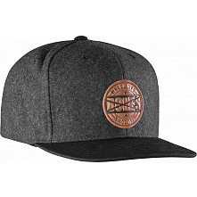 BONES WHEELS Wool Stamp Cap