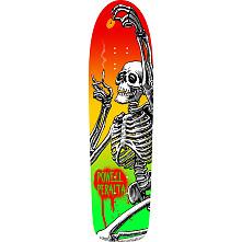 Powell Peralta Funshape Hippie Skeleton 2 Skateboard Deck - 8.6 x 31.66